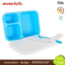 Vente en gros Boîte à lunch ronde en plastique sans ordonnance