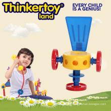 2015 Neue Plastik Ausbildung Spielzeug für Kinder Bau Spielzeug