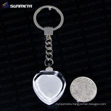 Sunmeta sublimation crystal keyrings wholesale---manufacturer