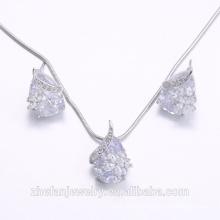 Wholesale for ladies set jewelry bridal jewelry set 2-piece jewelry set