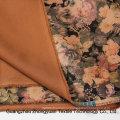 Модная печать замшевые ткани для одежды