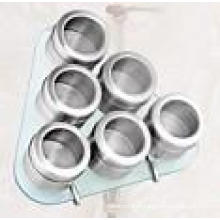 Stainless Steel Magnetic Spice Rack (CL1Z-J0604-6G)