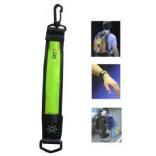 Bandoulières réfléchissantes à LED avec clip de sécurité (norme EN13356) (YLTC005)