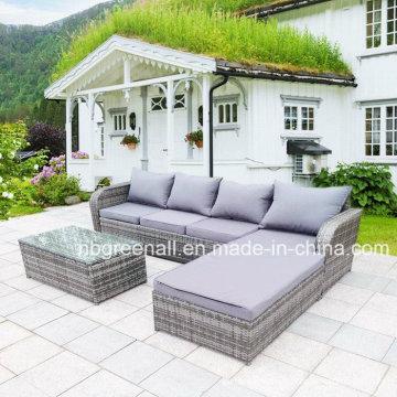 2017 Mobília ao ar livre nova do jardim do lazer do Rattan do projeto