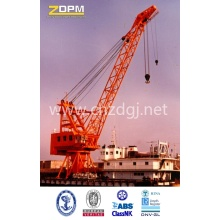 Sea Port Crane Use in Deck and Shore for Lifting
