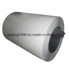 Bobinas de acero galvanizado prepintado con existencias completas
