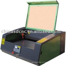 Máquina do laser laser gravura máquina/laser gravador/pequeno