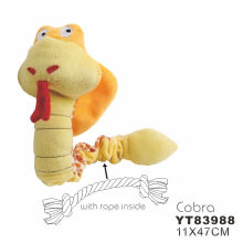Durable Plush Dog Toys with Squeaker (YT83988)