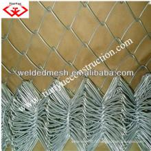 Clôture de liaison en chaîne galvanisée en Chine (usine ANPING)