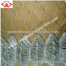 china galvanized chain link fence (ANPING factory)