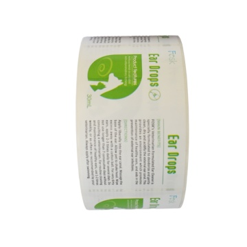 Hochwertige selbstklebende Etikettendruck mit billigem Preis