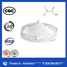 98,5% -101,0% Чистота Высокое качество Заводская цена L-Аланин