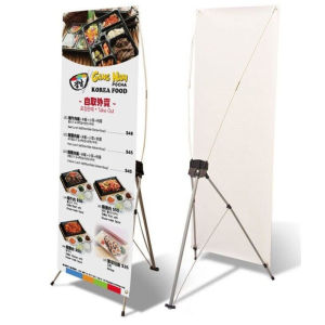 6 Feet Printed X Stand Banner