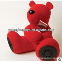 hot sale plush animal speaker