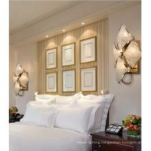 Classic Diamond Shape Bedside Crystal Led Wall Lamp