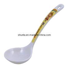 100% меламин посуда-детская посуда ковш /посуды Поставщик ложка (pH107-1)