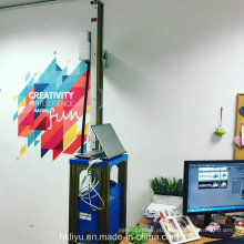 Nova modelo direta para impressora a jato de tinta de parede. Impressora vertical com tinta embutida em água 3D