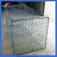 (ISO Certificate) Galvanized Gabion Basket /Gabion Cage Net