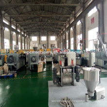 PE PP linha de produção de PVC WPC / linha de extrusão de perfil WPC