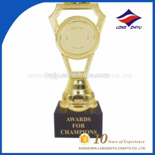 Wholesale custom made blank plastic base trophy