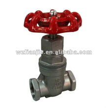 1/2 inch Stainless Steel Gate Valve Screwed Ends