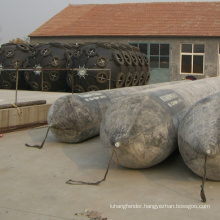 made in china boat inflatable nylon rubber marine airbags