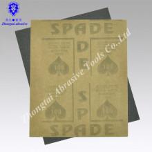Latex Wasserfestes Siliziumkarbidpapier Schleifpapier zum Polieren