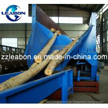 CE Approved Entrinden Netto-Rate über 95% Holzbearbeitungsmaschinen Holz Yard Lb-Z700s Single Roller 10-15 Tonnen / Stunde Baum Entrindungsmaschine