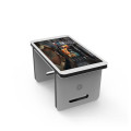 customized 55 inch multi touch screen coffee table display kiosk signage for game