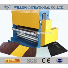 prepaited sheet embossing machine