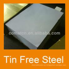 EN10202 padrão impresso lata chapa de aço livre de metal e parte superior da garrafa podem produção