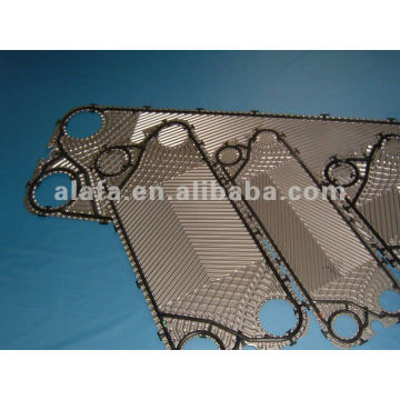 GEA 316L heat exchanger plates, SS304 SS316L Ti material