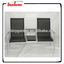Texlin alu. loveseat para jardín Textile Furniture Texlin chair Texlin bench con mesa
