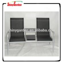 Texlin alu. loveseat para jardín Textile Furniture Texlin chair Texlin bench con mesa