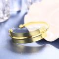 OEM venta al por mayor de Europa y los Estados Unidos vendiendo 18k pulsera Moda bricolaje plateado coulourful encanto pulsera