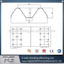 W Form Highway Guardrail Walze Formmaschine erreicht Qualität Erkennung Standards