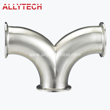 Stainless Steel Double Bend Type Tee