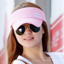 (LV15014) Visera promocional de Sun de los deportes para la muchacha