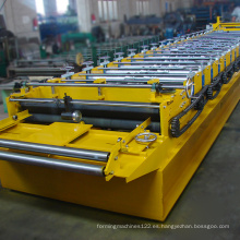 Producto caliente rollo cubierta de metal teja máquina formadora de rollos
