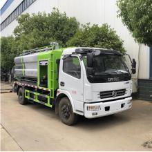 Caminhão de vácuo 4x2 que limpa o caminhão de tubulação de esgoto pubiano