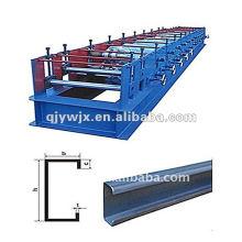 automatische Farbstahl C Kanal Roll Formmaschine