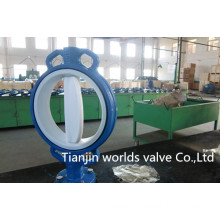 PTFE Coated Wafer Control Valve (D71X-10/16)