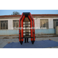 barco inflable barato 3m listón piso inflable barco con barco ce