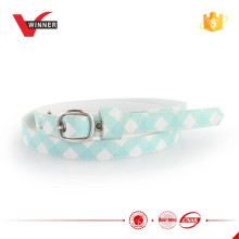 Cute girl skinny fabric belt for jean