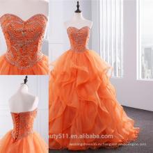 Пышное платье vestidos рейсы пенсии 2018 бальное платье с оборками милая органзы бисероплетение шесть 16 платья quinceanera платья ED02
