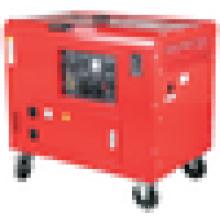 Venta caliente 6.0-6.5kw CE certificó el uso casero silenciado del grupo electrógeno diesel