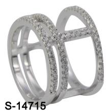 2016 neue Modell Modeschmuck Messing Ring (S-14715)