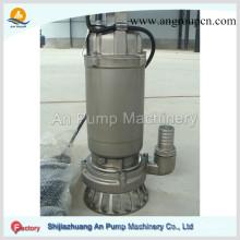 Pompe verticale à boues d'épuration en acier inoxydable