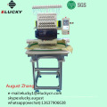 Elucky 15 colors high speed single head embroidery machine to Africa for textile embroidery