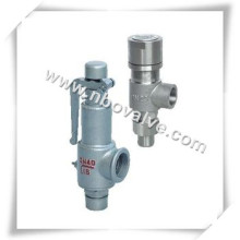 Steam Thread Pressure Relief Valve with Lever (A28Y)